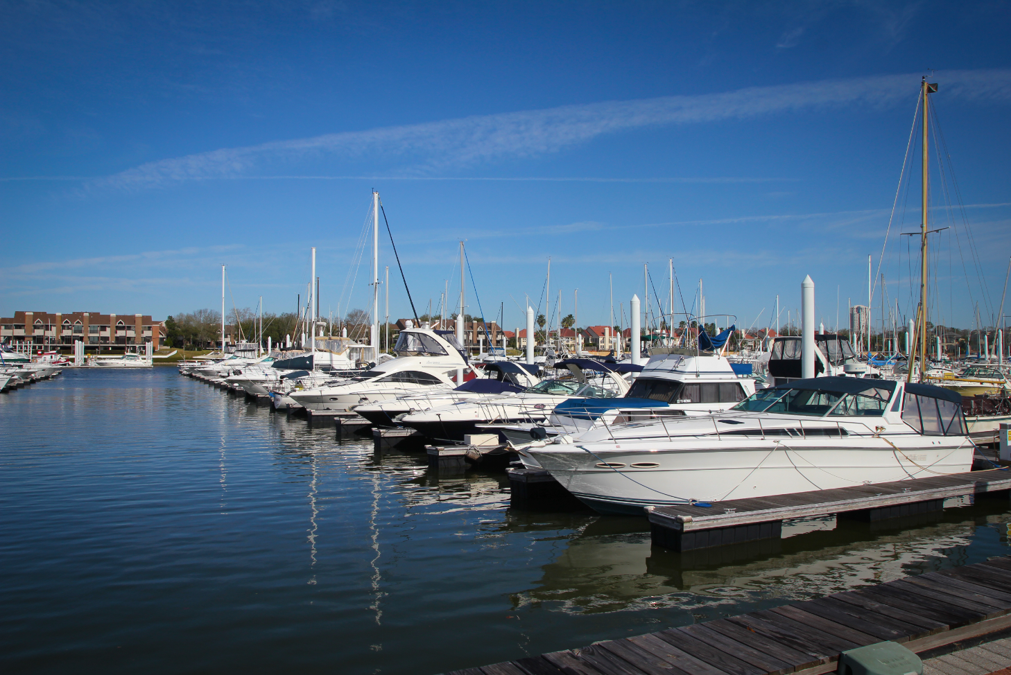 Boats in the Marina