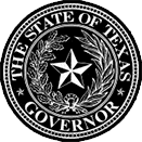 the State of Texas Governor seal